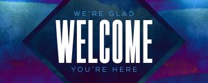 Live Events Stock Media - Weathered Stone Welcome Still