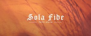 Live Events Stock Media - Reformation Sola Fide Still