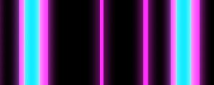 Live Events Stock Media - Neon Pink and Blue glowing bars