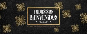 Live Events Stock Media - Trendy Christmas Welcome Spanish Still