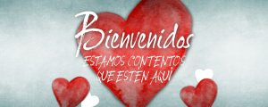 Live Events Stock Media - Valentine's Hearts Welcome Spanish Still