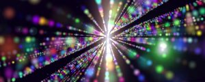 Live Events Stock Media - Rainbow Galaxy Space Particles