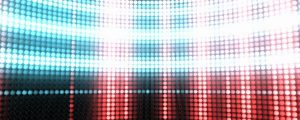 Live Events Stock Media - Grid Lit Wall