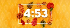 Live Events Stock Media - Colors of Fall Countdown
