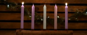 Live Events Stock Media - Country Advent Love Candles
