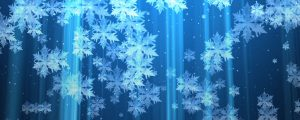 Live Events Stock Media - Blue and White Snowflake Particles