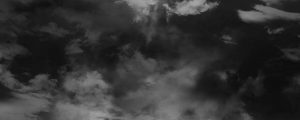 Live Events Stock Media - Flowing Cloud Composite BW
