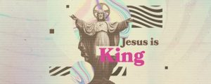 Live Events Stock Media - Jesus is King Title