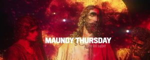 Live Events Stock Media - Holy Week Art Maundy Thursday Still
