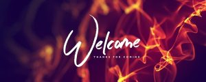 Live Events Stock Media - Pentecost Flames Welcome Still