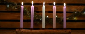 Live Events Stock Media - Country Advent Christ Candles