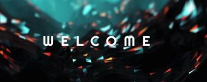 Live Events Stock Media - Glow Field Welcome