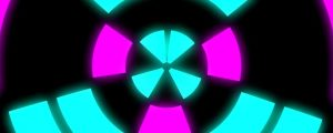 Live Events Stock Media - Tunnel Neon Rotating Shapes