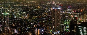 Live Events Stock Media - Tokyo Night Skyline