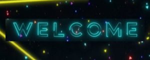 Live Events Stock Media - Neon Glow Welcome