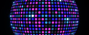 Live Events Stock Media - LED DiscoBall 02