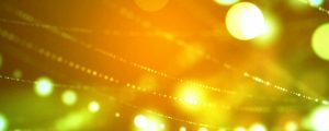 Live Events Stock Media - Spinning Green, Yellow & Orange Strands