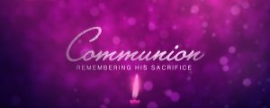Live Events Stock Media - Advent Light Communion Still