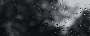 Live Events Stock Media - Rain on Glass B BW