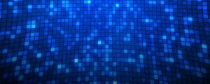 Live Events Stock Media - Blue Spinning Light Grid