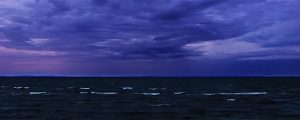 Live Events Stock Media - Stormy Dawn on Whitefish Bay