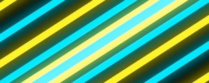 Live Events Stock Media - Glowing Yellow and Blue Lines