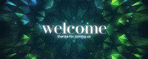 Live Events Stock Media - Crowned Glass Welcome Still