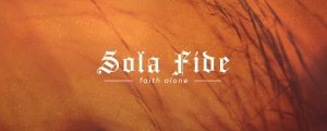 Live Events Stock Media - Reformation Sola Fide
