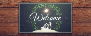 Live Events Stock Media - Christmas Manger Welcome Still