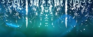 Live Events Stock Media - Blue Chandelier