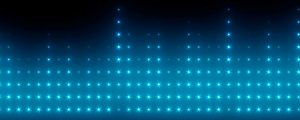 Live Events Stock Media - Blue Light Wall