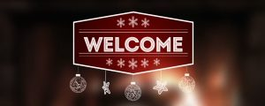 Live Events Stock Media - Christmas Fireplace Welcome