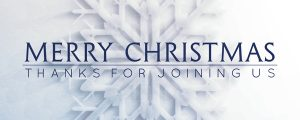 Live Events Stock Media - Frosted Snowflake Merry Christmas Still