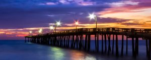 Live Events Stock Media - Nags Head Pier Dawning