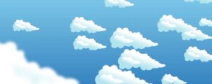 Live Events Stock Media - Falling Fluffy Clouds Background